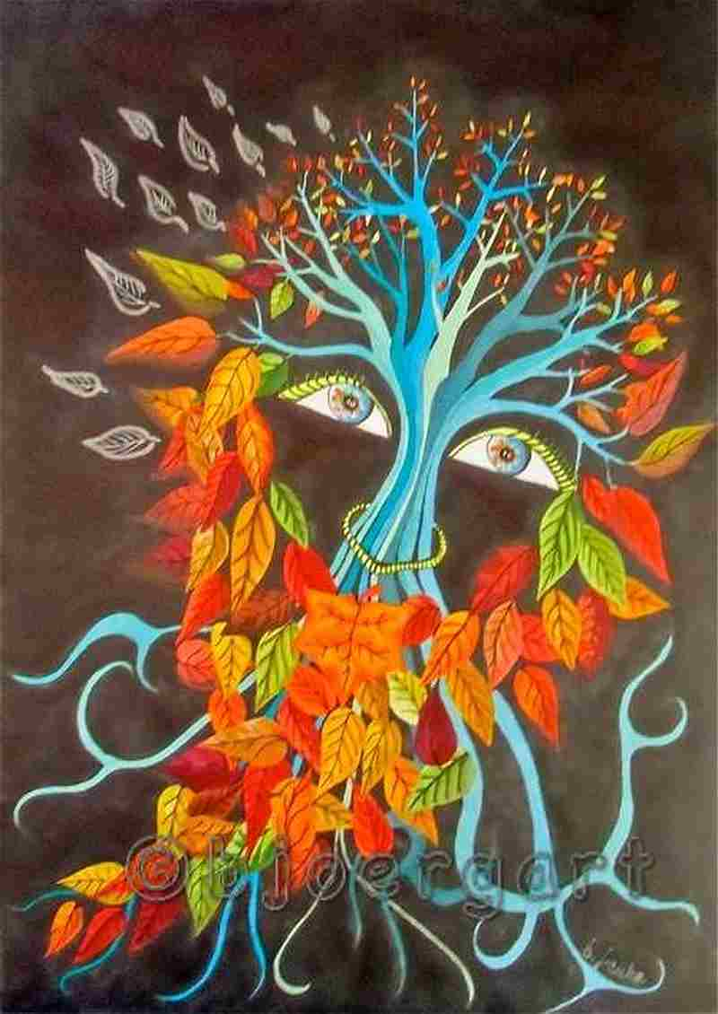 ghost of autumn ...