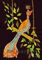 the lone bird of paradise ...