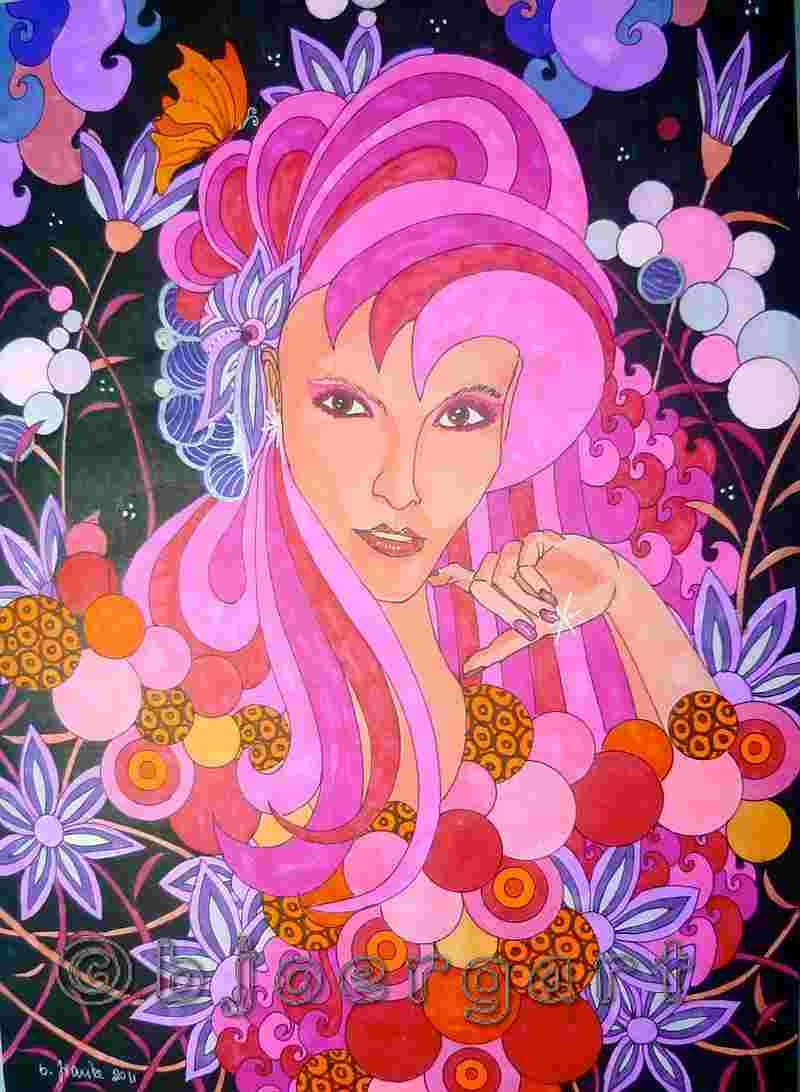 pink magic...