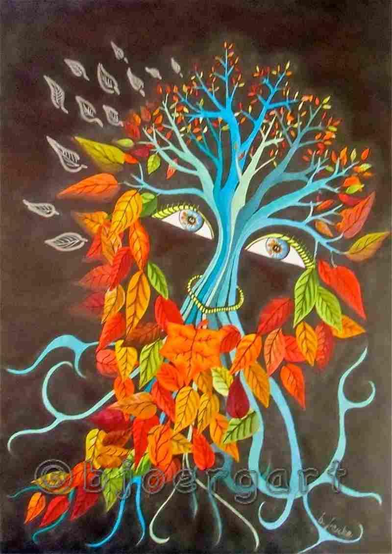 ghost of autumn...