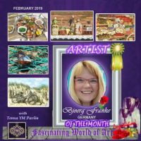 ''Artist of the month February 2019''
