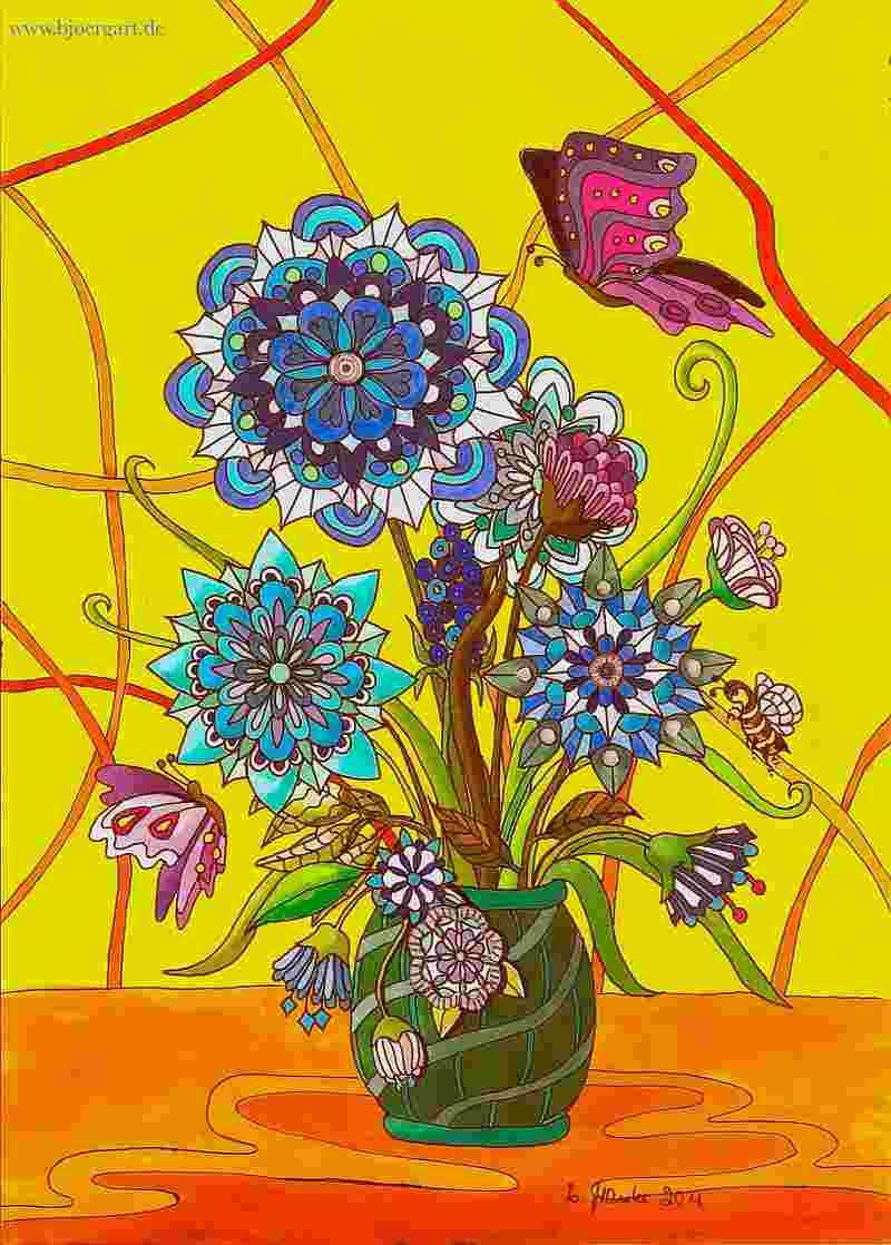 Title: FLOWERS OF MANDALAS 3