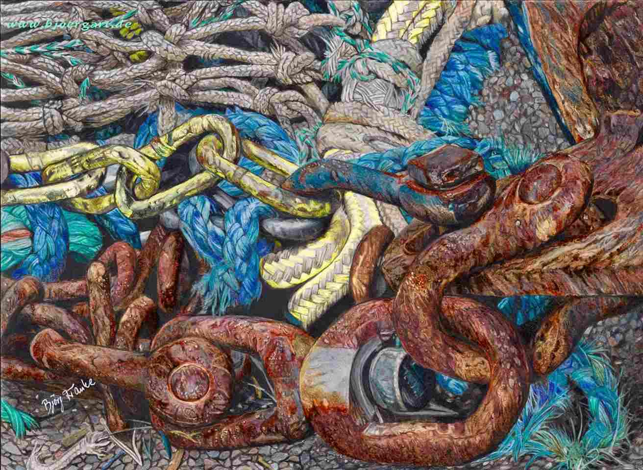 Title: »Anchor chains and fisher's yarn«