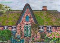 Title: »Old Capitains house, Island Sylt«