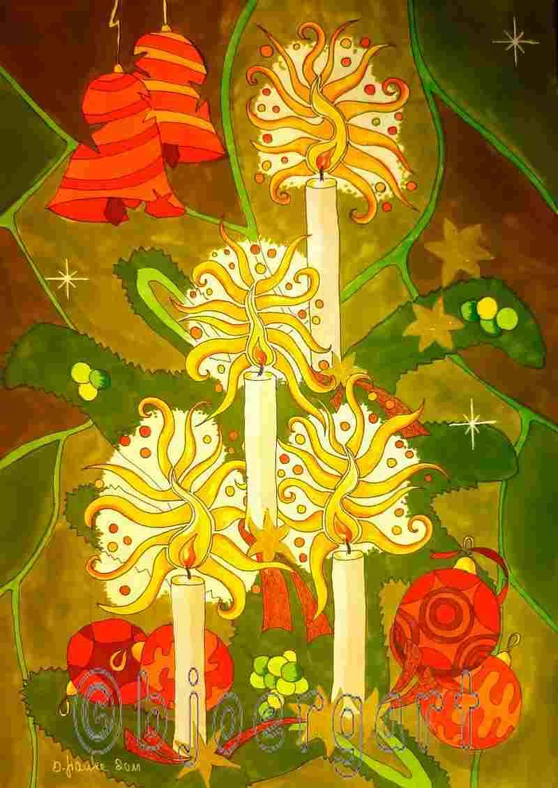 Christmas time abstract...